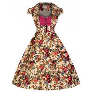Lindy Bop dress with belt